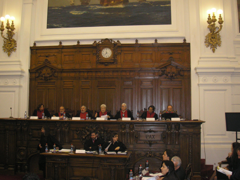 CORTE INTERAMERICANA celebró audiencia pública en Santiago de Chile. ex Congreso