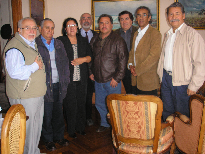 Reunión de UNExPP con ANEXPP