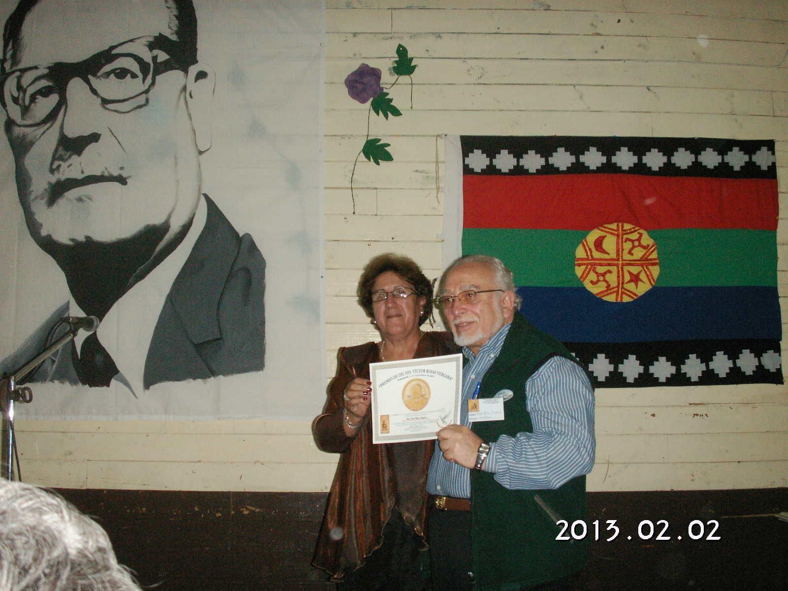 Reconocimiento a nuestro compañero Vicepresidente y Asesor Jurídico Victor Rosas Vergara